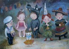 Сказочная зима в работах Нино Чакветадзе: 24 теплые и добрые картины - Ярмарка Мастеров - ручная работа, handmade