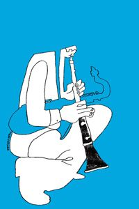 Another Jazz Graphic by Takao Fujioka...I love his work.