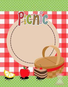 Passatempo da Ana: Kit- PicNic