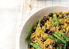 Curried Quinoa with Blueberries and Snap Peas   Vegetarian Times
