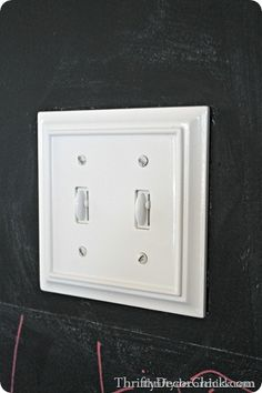 molding light switch cover found at loweu0027s home depot or true value