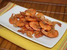 Receita de Camarão frito de praia - Tudo Gostoso