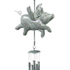 Flying Pig Windchime