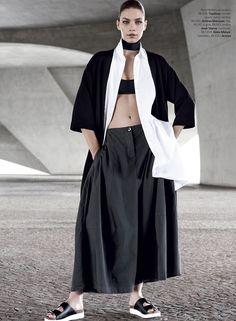 Aline Weber by Giampaolo Sgura for Vogue Brazil November 2014