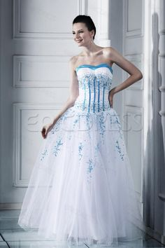 Hot Sell Attractive Sweetheart Neckline Floor-length Lubas Ball Gown Prom Dress