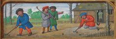 medieval manuscripts brugge | Golfen in zestiende-eeuws Brugge | Vlaamse Erfgoedbibliotheek