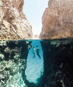 Below sea level // Greece