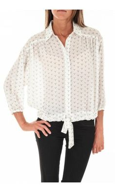 CHEMISE MANCHE 3/4 EXAGGERATED LEVI'S BLANC
