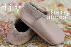 Lover of Vintage: soft leather baby shoes