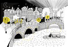 """""""Cosas que nunca olvidarás de tu Erasmus"""" Ilustrado por Amaia Arrazola Editado por Lunwerg"""