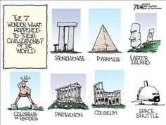 The 7 wonder-what-happened-to-their- civilizations? of the world.