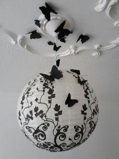 Lampe, Schmetterlinge