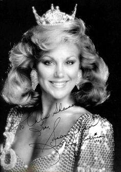 Susan Akin. Miss America. 1986 from Medidian, Mississippi