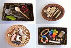 Montessori: il cesto dei tesori - BabyGreen