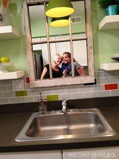 Colorful Kitchen Renovation {Knock It Off} - East Coast Creative Blog