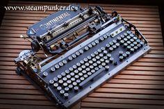 steampunk computer keyboard by steamworker on deviantART