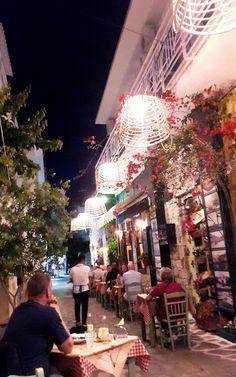 Summer Night - Genteki Restaurant - Samos Island - Pythagorion Greece