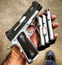 """2,401 Likes, 16 Comments - Guns Knives Edc Gear (@guns.gear.knives) on Instagram: """"@Regranned from @brazeau_racing -  Who else carries 2 extra mags with a 1911?  #sigsauer…"""""""