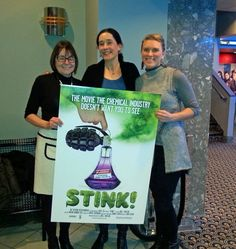Why You Need to See the STINK movie about toxic chemical in products we use every day.