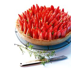 Recipe: Strawberry and thyme pie   The Simple Things