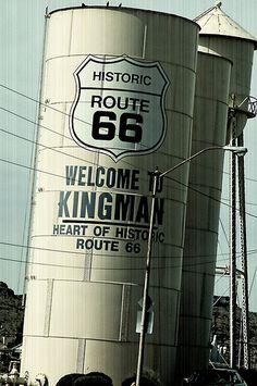 Welcome to Kingman Arizona...Route 66