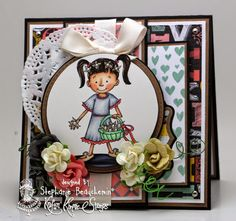 A World of Creative Possibilities: Kraftin' Kimmie Stamps : Something new!