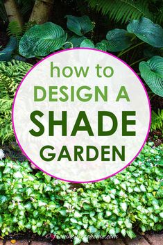 Get some shade garden design ideas and inspiration (with pictures) for both small front yard garden beds and larger backyard woodland gardens Garden Design Plans, Backyard Garden Design, Small Garden Design, Large Backyard, Small Garden Layout, Flower Garden Layouts, Flower Garden Pictures, Small Garden Landscape, Shade Landscaping
