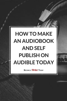 How do you publish a book on Audible? In this post, I'll answer these questions based on my experiences narrating and self-publishing the Art of Writing a Non-Fiction Book. Make Money Writing, Writing Advice, Writing A Book, Writing Help, Writing Ideas, Writing Images, Writing Goals, Fiction Writing, Writing Resources