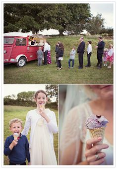 ice cream van desserts at your wedding. Visit www.rosetintmywedding.co.uk for bespoke wedding planning and design.