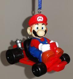 Super Mario Kart Super Circuit Nintendo Game Boy MARIO Custom Christmas Ornament by GuyzzandDolls on Etsy