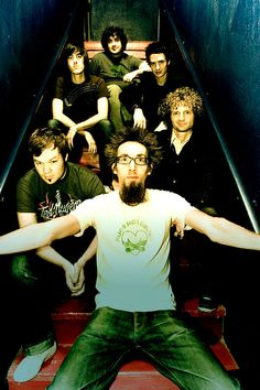 David Crowder Band... LOOOVE ME SOME DAVID CROWDER BAND!! I actually MET him and his band mates in our local mall a few years back. I walked right up to him ...introduced myself,told him how much I LOVED their music...and from that point on he was like my long lost friend!! SERIOUSLY??!!??? Who knew that someone you NEVER met could be SO NICE!! He even walked and shopped with us a while!! CRAZY COOL MEMORY!!!