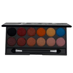 Sleek Sunset Palette... inspired by of course sunset! This palette has wonderful highly pigmented colors that will certainly add lots of warmth to your collection.