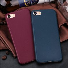 Leather iPhone 8 Cases - Red   Khaki (Light Brown)   Dark Brown   9ff8fd4b2e2
