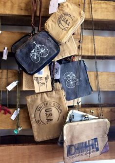 New Mona B wallets and wristlets at Frisco Mercantile and Richardson Mercantile.