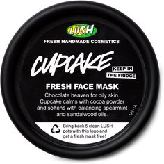 Masks LUSH ($7.95) ❤ liked on Polyvore featuring beauty products, beauty, fillers, makeup and cosmetics