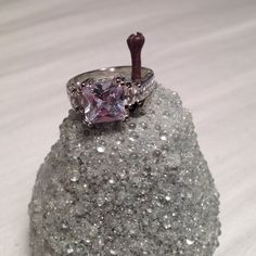 HP -Size 7 sterling silver CZ ring -Worn twice  -Looks great as an 'engagement' ring or just a beautiful fashion piece  ☑️ Bundles are encouraged  No trades. I will NOT answer to this comment. ❌No offers in comments No asking lowest Offer No paypal, etc No holds ❗️All sales FINAL, no exceptions  ‼️Please remember the fees PM takes out. Be courteous and stay classy. ‼️ LOW BALL OFFERS WILL BE IMMEDIATELY DECLINED. Don't offer $10 for an $80 item, it's rude and wastes not only your time but…