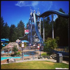 Cultus Lake Waterpark and Waterslides in Cultus Lake, BC