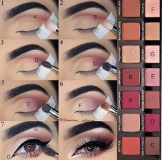 Ich brauche die Anastasia Beverly Hills Modern Renaissance-Palette so in . - Make-up - Makeup Makeup Goals, Makeup Inspo, Makeup Ideas, Makeup Stuff, Makeup Products, Cheap Makeup, How To Makeup, Makeup Brands, Beauty Make-up