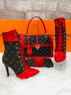 Louis Vuitton Monogram Canvas Mini Pochette Accessoires – The Fashion Mart Zapatos Louis Vuitton, Louis Vuitton Shoes, Louis Vuitton Handbags, Gucci Handbags, Fashion Bags, Fashion Shoes, Hot Shoes, Designer Shoes, Purses And Bags