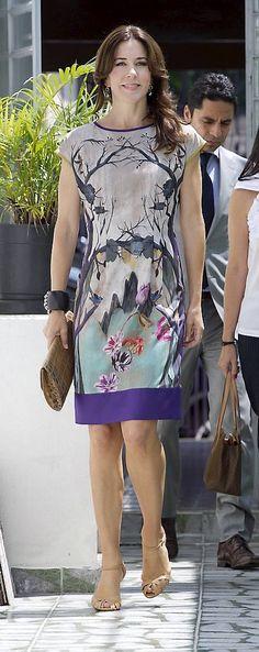 Kronprinsesse Mary bar italiensk design fra top til tå, da hun deltog i en…