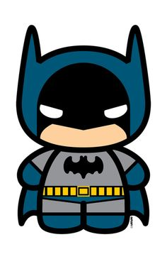 Cute little Batman.