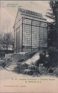 M. Boschi (cristallerie, vetrerie)