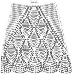 Teje mirando los moldes las hallas en modelos largos o cortos de motivos y puntos delicadas