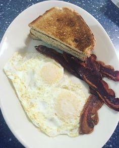 Rye Toast, Turkey Bacon, Breakfast, Instagram Posts, Food, Morning Coffee, Essen, Meals, Yemek