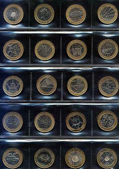 Harris QUARTER Round Clear Plastic Storage Coin Holder Tubes Lot H.E 10
