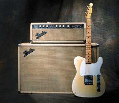 50's Fender Esquire and 1963 Fender Bassman amp