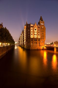 City Lights, Germany, by Christian Bothner