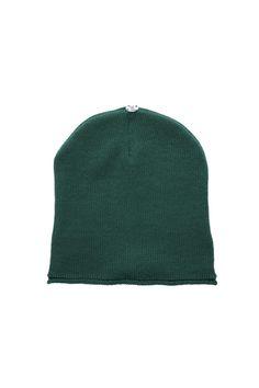 d341532d92b Glossy Toque Emerald Green - Lindo F Fur Pom Pom