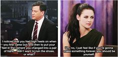 When she showed her true colors. | 25 Times Kristen Stewart Was Real As F**k