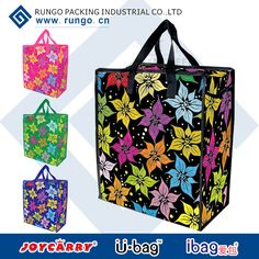 Large tote zipper bag with two zipper puller and one small zippered pocket inside.